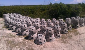 group of reef balls