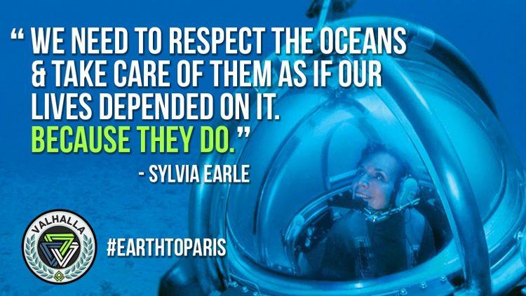 Sylvia Earl_Ocean_Blue Economy_Climate change